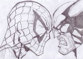 spiderman vs wolverine by kon martins on deviantart