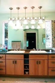 vanities vanity light fixture allen roth 3 light