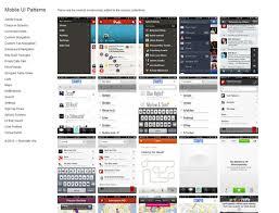 gui design patterns mobile ui design patterns 10 for inspiration