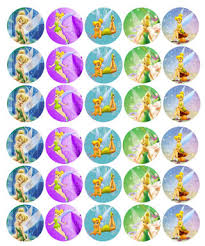 free tinkerbell bottlecap images emailed