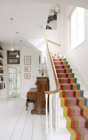 Floor Covering Ideas For Hallways Hallway Flooring Ideas Love Chic Living 2013 A Striped Stair