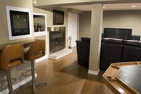 attractive small basement room ideas with small basement design
