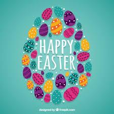 easter egg easter eggs background vector free