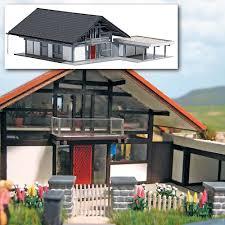 House With Carport Busch Modellbau Automodelle Spiel Und Bastelmaterial Modern