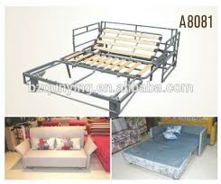 King Size Folding Bed Metal Structure Folding Sofa Bed Frame Metal Structure Folding