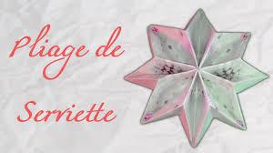 Pliage Serviette Papier Poinsettia by Origami Fold Paper Napkin Snowflakes Youtube