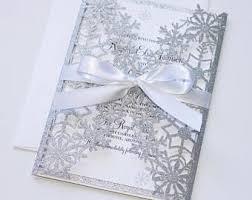 Wedding Invitations Cape Town Winter Wedding Etsy