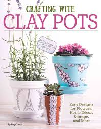 transform inexpensive garden pots into works of art with this easy