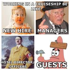 Cruise Ship Meme - 9 cruise ship workers dish the dirty details of life at sea