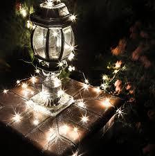 amazon com deneve led copper string lights 33ft standard