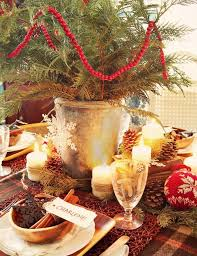 Rustic Christmas Centerpieces - 10 classy christmas centerpieces for a very jolly holiday table