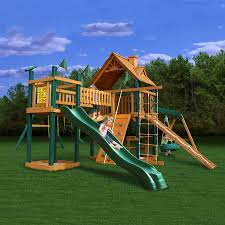 shop gorilla playsets pioneer peak residential wood playset with
