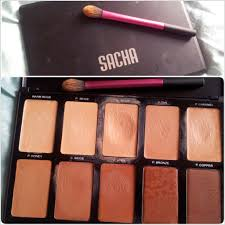 sacha cosmetics cream to powder palette review http www