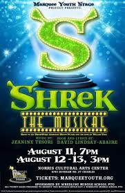 shrek musical mystage