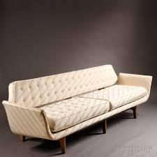 edward wormley for dunbar gondola sofa sale number 2737b lot