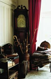 pictures of country homes interiors country house interior walking sticks and grandfather clock