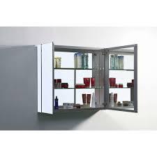 Recessed Vanity Lighting Home Decor Recessed Mount Medicine Cabinet Modern Bathroom