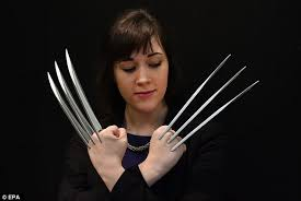 wolverine s claws wolverine s admantium claws from xmen on sale at christie s
