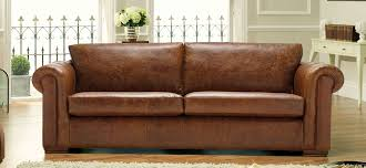 Aspen  Seater Leather Sofa  Leather Colours SofaSofa - Leather 3 seat sofa