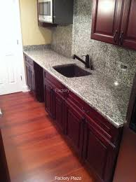 Red Backsplash Kitchen Full Backsplash Granite Countertops