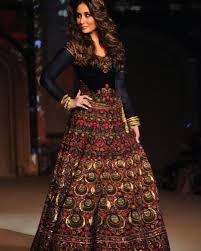buy kareena kapoor royal blue color velvet bollywood lehenga in uk
