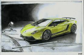lamborghini car drawing drawing of a lamborghini gallardo lp570 4 superleggera