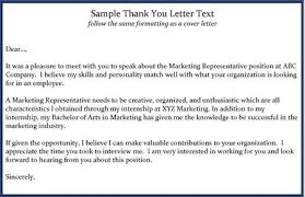 sample thank you email sample thank you email after second