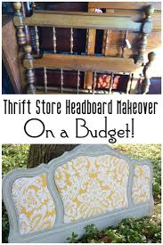 best 25 headboards for sale ideas on pinterest headboard redo thrift store headboard makeover on a budget it s amazing what a coat of