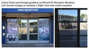 See Through Window Graphics Stadium Signage Gallery