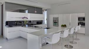 white kitchen breakfast bar kitchen and decor