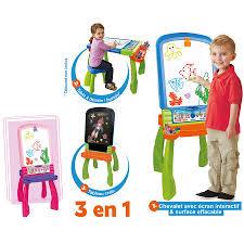 siege interactif vtech tableau enfant magi chevalet interactif 3 en 1 vtech