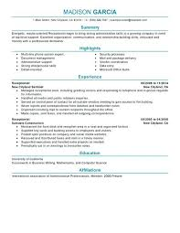 Example Secretary Resume Sample Medical Secretary Resume Picturesque Design Ideas Sample