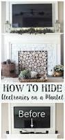hide fireplace home design