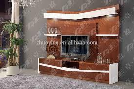 Walnut Color Living Room Tv Showcase Design Buy Tv Showcase - Showcase designs for living room