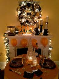 Gold Table Decorations Amazing Easy Christmas Table Decorating Ideas With White Candle