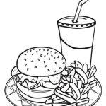 food and nutrition coloring pages a fun nutrition activity for