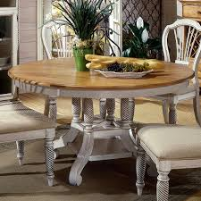 shop hillsdale furniture wilshire pine wood round extending dining