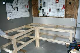 tips heavy duty garage workbench ideas