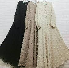 model baju jual model baju muslim gamis terbaru dan modern rubiah di lapak