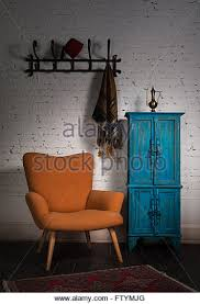 Fez Bookcase Room Retro Living Room Cabinet Stock Photos U0026 Retro Living Room Cabinet