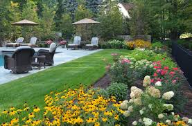 plan a colorful perennial garden traditional home