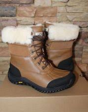 ugg s adirondack ii leather apres ski boots ugg australia leather winter boots for ebay