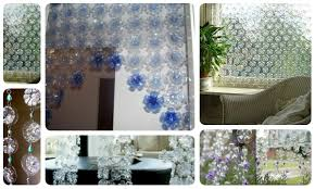 curtains made of plastic bottles crazzy craft