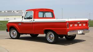 Old Ford Truck Beds For Sale - 1966 ford f100 1 2 ton short wide bed custom cab pickup truck