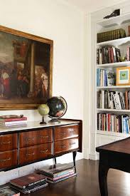 Home Office Credenza Credenza Ideas Home Office Traditional With Wall Art Stacked Books