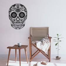 online get cheap skull decals for walls aliexpress com alibaba