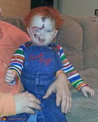 chucky costume toddler chucky baby costume