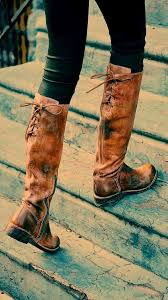 womens boots distressed leather fabulous back lace brown leather boots fashion galaxy