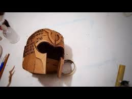 60 x men magneto helmet part 1 cardboard template how to