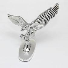 chrome eagle emblem ebay